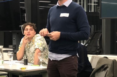 Nick Donaldson at the Great Debate 2019