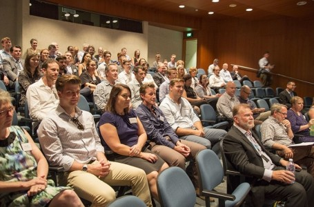 Audience at the QLD Chapter MLTS screening