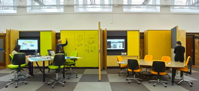 Innovative Classroom Furniture Australia : Learning environments spatial lab university of melbourne