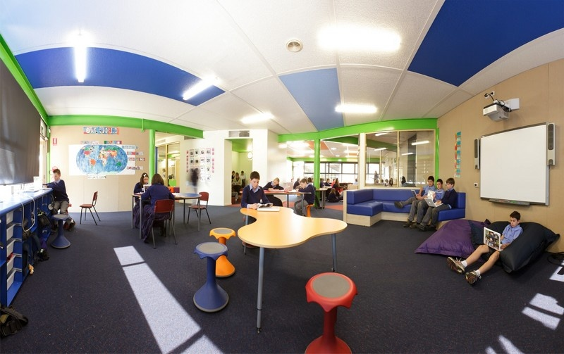 Innovative Use Of Classroom Space ~ Ichthus centre yrs learning space st monica s