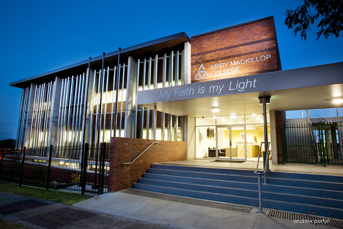 Mary Mackillop Administration Building Learning