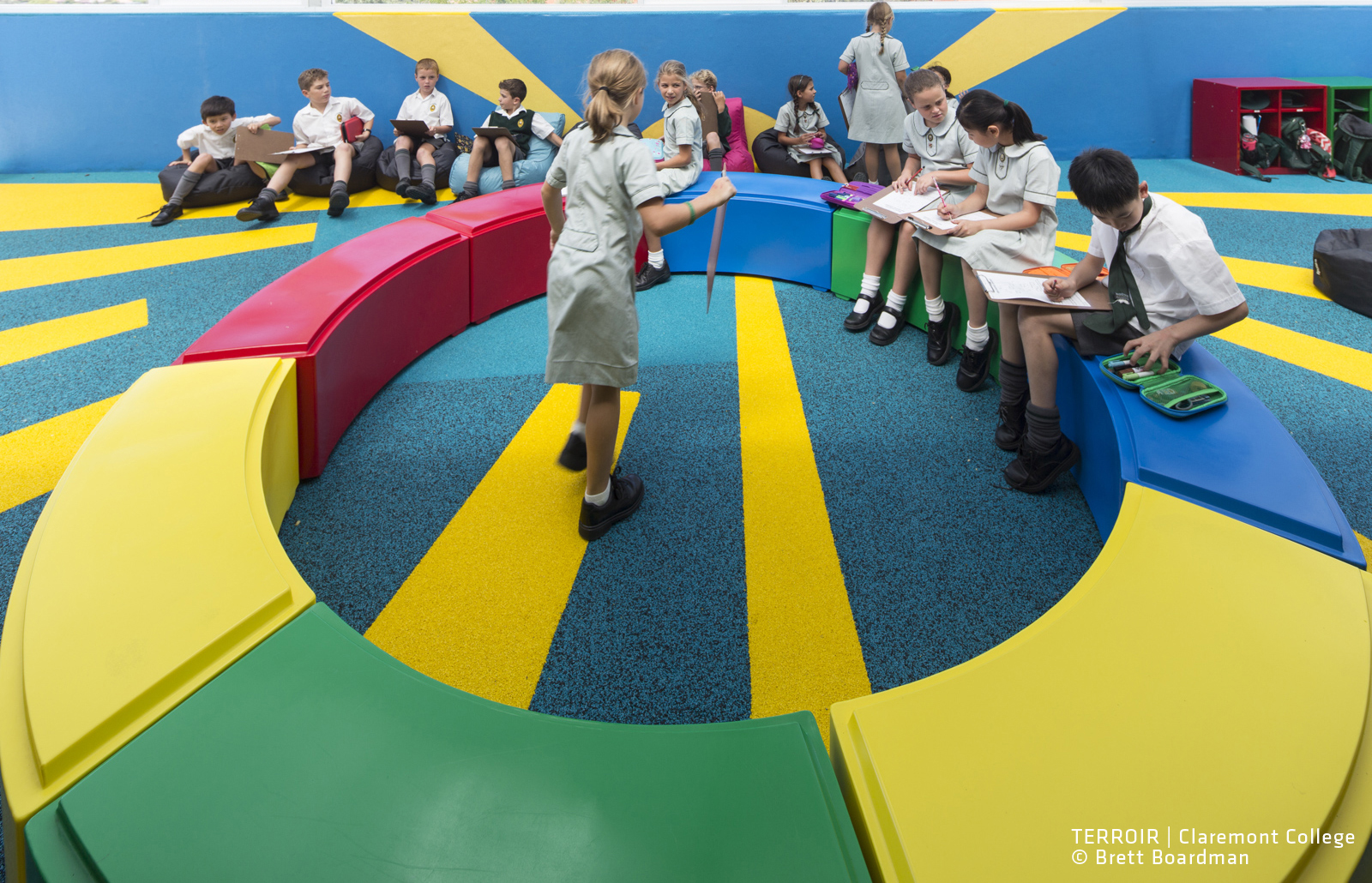 Claremont College Stage 4 Learning Environments